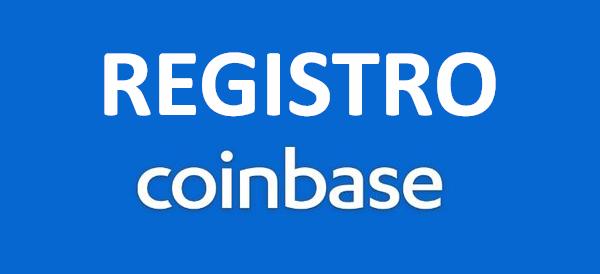 Registro Coinbase